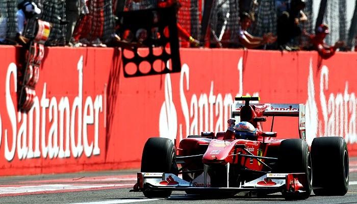 Fernando Alonso vence em Monza em 2010
