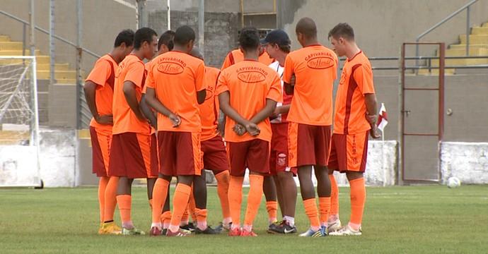 Capivariano, treino (Foto: Reprodução EPTV)
