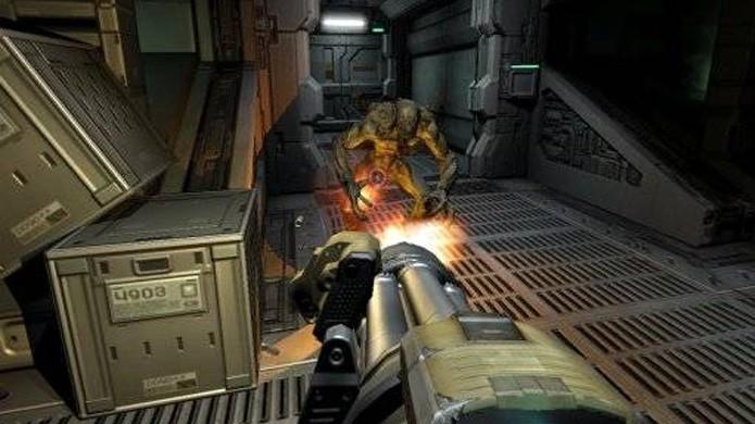 O Xbox foi o único console que ganhou uma versão de Doom 3 na época (Foto: Reprodução/GameFaqs)