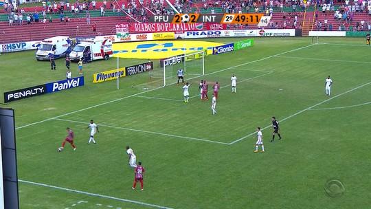 Brenner marca duas vezes, mas Passo Fundo arranca empate do Inter aos 48