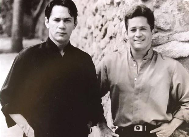 Leandro e Leonardo (Foto: Reprodução/Instagram)