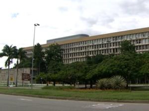 Universidade Federal do Rio de Janeiro (UFRJ) (Foto: Reprodução/Globo)