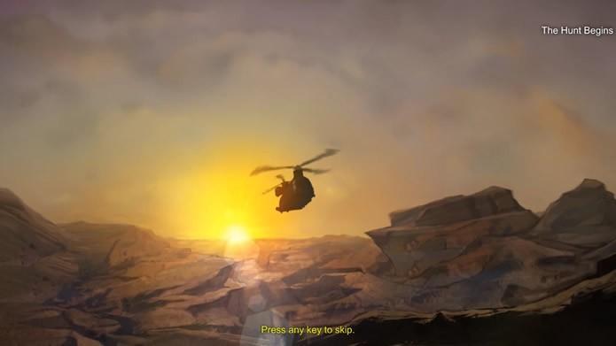 Com rápidas animações antes dos cenários do modo campanha, o game explora pouco a história da franquia (Foto: Reprodução/Daniel Ribeiro)