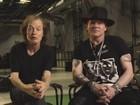 Axl Rose diz que ser vocal do AC/DC é 'desafio', antes de show em Lisboa