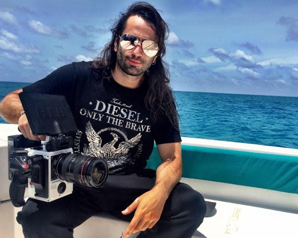 Marcos Mello é o responsável pelo fashion film da edição de setembro (Foto: Divulgação)