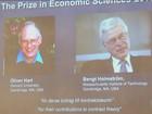 Oliver Hart e Bengt Holmström vencem o Prêmio Nobel de Economia