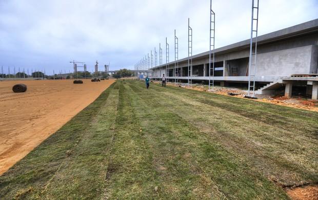 gramado ct arena grêmio centro de treinamentos (Foto: Omar Freitas/Agência RBS)