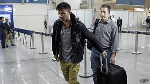 Governo britânico criticou pessoas que atacaram a detenção de David Miranda em Londres (Foto: AFP)