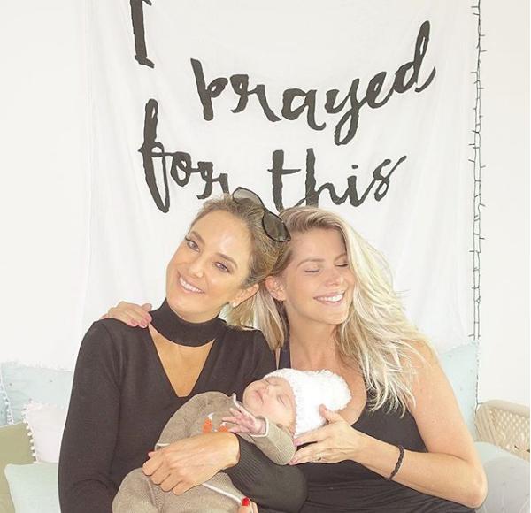 Ticiane Pinheiro visita Karina Bacchi (Foto: Reprodução/Instagram)