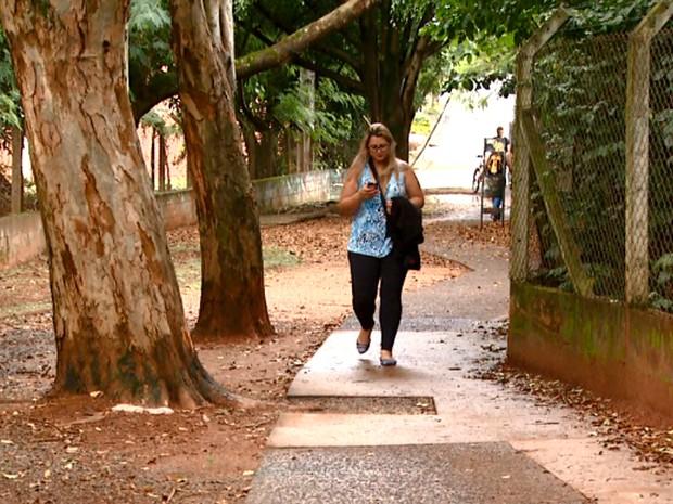 Parque Ecológico Prof. Hermógenes de Freitas Leitão Filho em Campinas  (Foto: Reprodução/ EPTV)