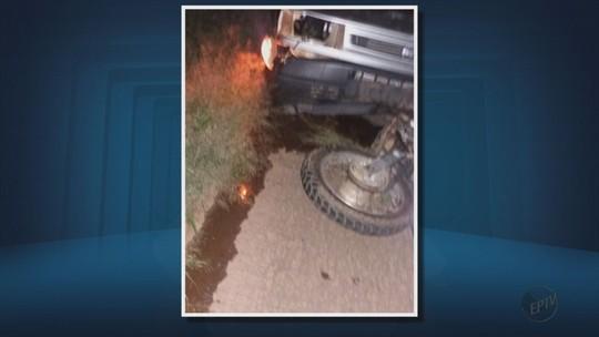 Motociclista morre após atropelar capivara na MG-184, em Alterosa, MG