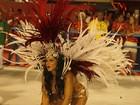 Veja fotos das rainhas e musas com seus truques para cruzar a Sapucaí