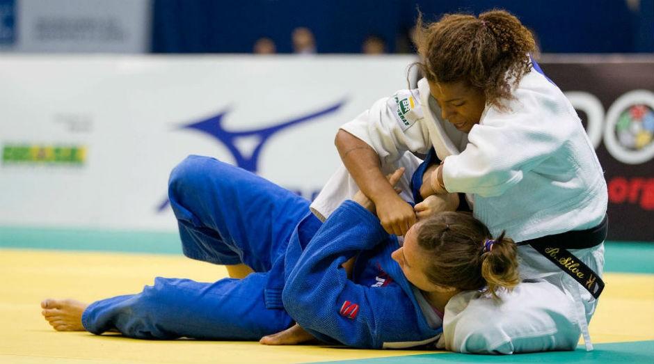 Rafaela Silva, ouro para o Brasil na Rio 2016 (Foto: Divulgação)