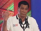 Presidente filipino diz que prometeu a Deus não falar mais palavrões