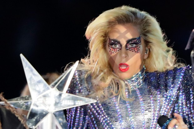 Lady Gaga no SuperBowl (Foto: Getty Images)