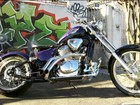 Internauta transforma moto Honda Shadow em &#39;chopper&#39; clssica