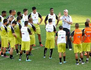 Paulo Autuori treino Vasco elenco (Foto: Márcio Alves / Ag. O Globo)
