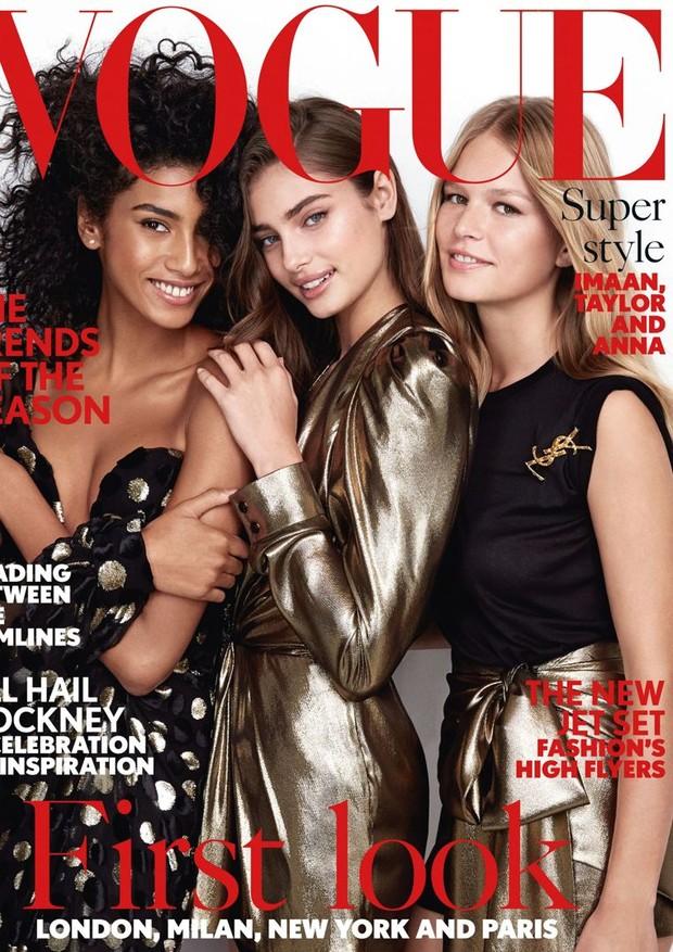 Capa da Vogue UK de fevereiro (Foto: Reprodução)