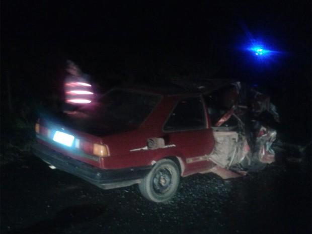Motorista bêbado causou morte de um e feriu mais quarto entre Taiúva e Bebedouro (Foto: Valdir da Cruz Costa)