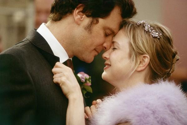 Renee Zellweger e Colin Firth em cena de O Diário de Bridget Jones (Foto: Divulgação)