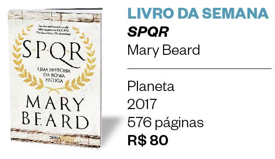 Livro da semana | SPQR (Foto: Divulgação )