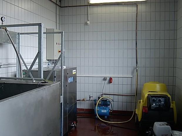 Sistema de reciclagem de água da Kärcher (Foto: Divulgação/Kärcher)