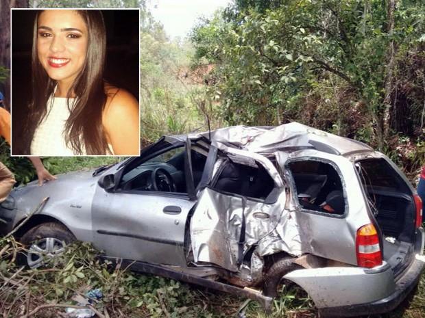 Jovem que sofreu acidente em Campanha estava internada há 11 dias (Foto: Reprodução EPTV)