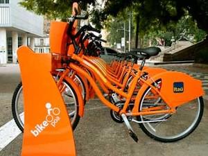 Sistema de aluguel de bicicletas tem novas estações em Porto Alegre (Foto: Anselmo Cunha/PMPA)