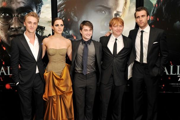 O elenco de Harry Potter tem um grupo de WhatsApp para manter contato (Foto: Getty Images)