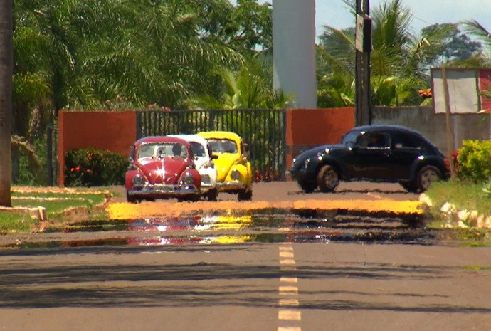 Seo Tiradentes tem diversas cores do famoso e clássico modelo  (Foto: Reprodução / TV TEM)