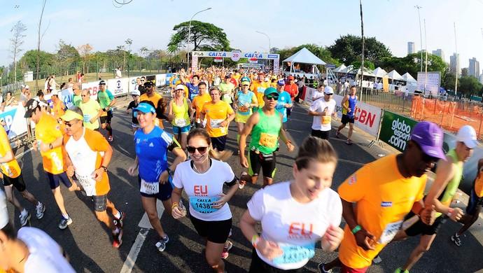 Maratona de São Paulo eu atleta (Foto: Marcos Ribolli)