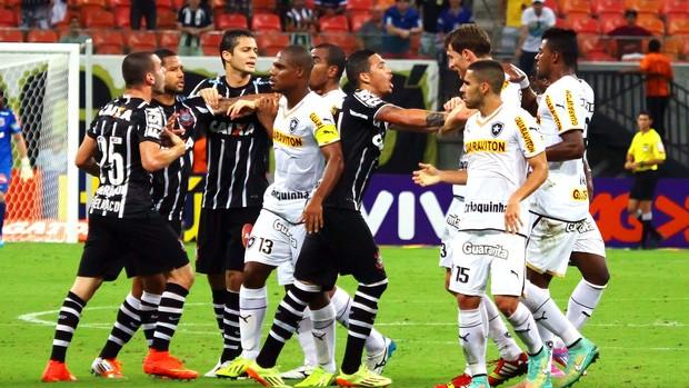 Botafogo x Corinthians  (Foto: Edmar Barros / Agência Estado)