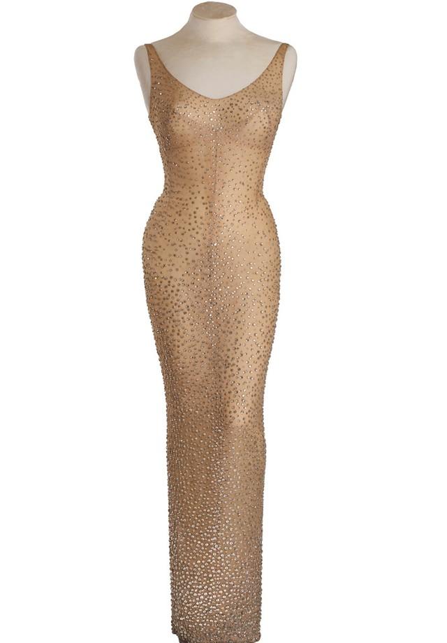 Vestido de Marilyn Monroe (Foto: Reprodução)