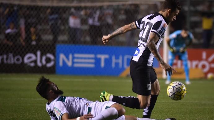 Lucas Lima Gama x Santos (Foto: André Borges/Agif/Estadão Conteúdo)