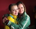 Isadora chora e encontra afago na mãe: 'Espero que o sonho não termine'