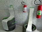 Empresa transforma tubos de pasta de dente usados em telhas e placas