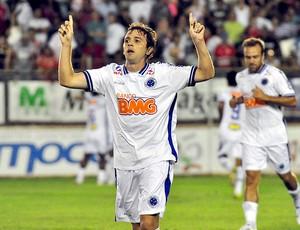 Montillo gol Cruzeiro (Foto: Ag. Estado)