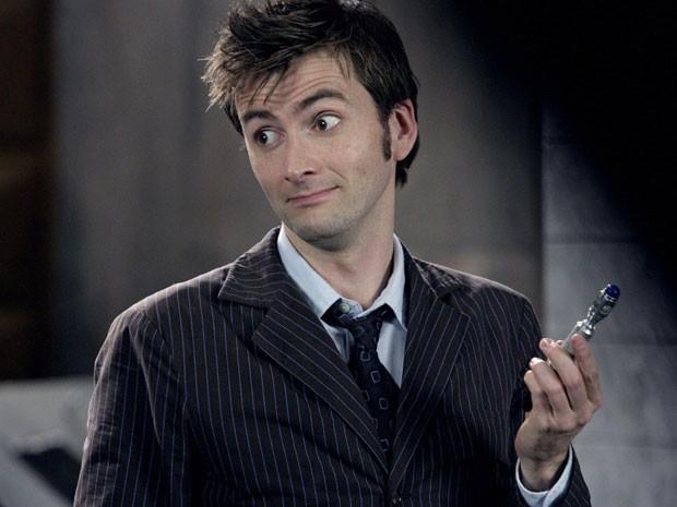 David Tennant em 'Doctor Who' (Foto: Divulgação)
