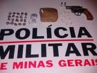 Polícia apreende arma e drogas após denúncia anônima em Montes Claros