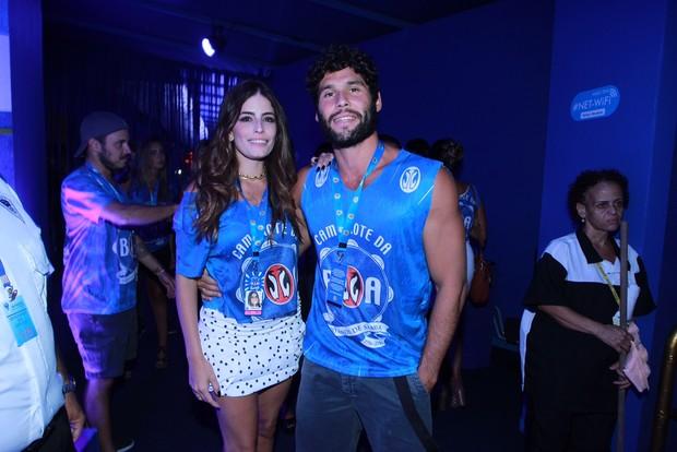 Dudu Azevedo e a namorada (Foto: Marcello Sá Barreto / AgNews)