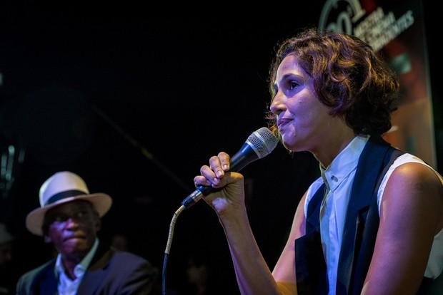Camila Pitanga na Mostra de Cinema de Tiradentes (Foto: Jackson Romanelli)
