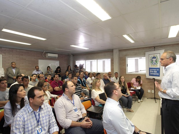 Secretário José Mariano Beltrame participou da abertura do curso de capacitação para comandantes de UPPs (Foto: Clarice Castro / Divulgação Governo do Estado do RJ)