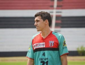 Caio Gardim, atacante do Botafogo-SP (Foto: Rafael Martinez / BFC)