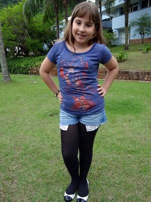 Mila Freitas posa para foto (Foto: Salve Jorge / TV Globo)
