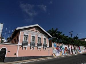 Casarão de Câmara Cascudo, em Natal (Foto: Canindé Soares/Cedida)