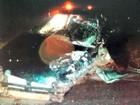 Colisão frontal entre dois veículos deixa um morto e três feridos no RS