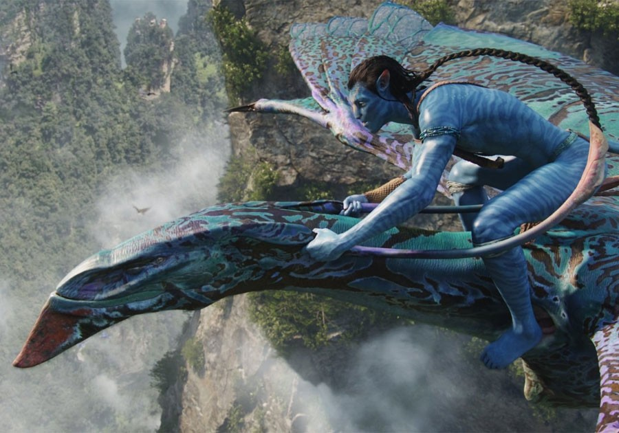 Nova espécie de pterossauro recebeu nome em homenagem ao Na'vi Ikran, personagem que lembra um dragão no filme Avatar (Foto: Cortesia/21 Century Fox)