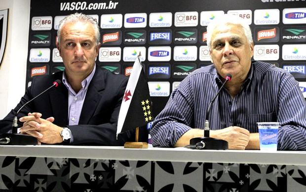Dorival Junior apresentação Vasco  (Foto: Marcelo Sadio / Site do Vasco)