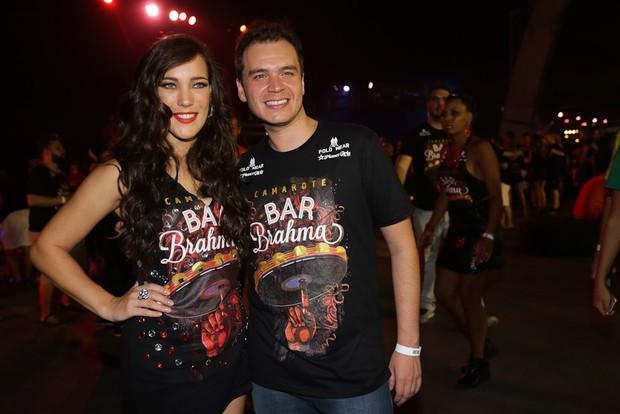 Adriana Birolli e noivo (Foto: Cláudio Augusto/Brazil News)