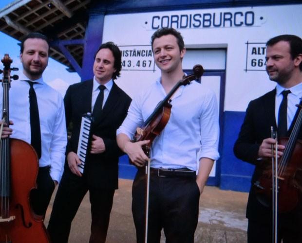 Família aprontou em Cordisburgo, no 'Um Por Todos' (Foto: Caldeirão do Huck/TV Globo)
